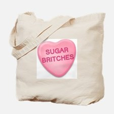 sugar britches Candy Heart Tote Bag