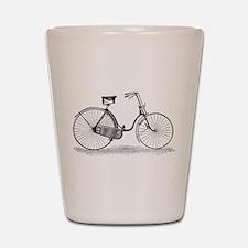 Vintage Bike Shot Glass