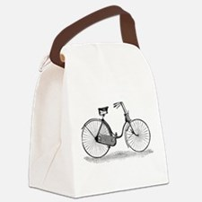 Vintage Bike Canvas Lunch Bag