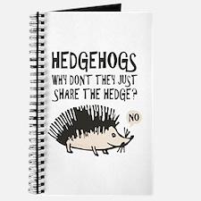 Hedgehog - Funny Saying Journal