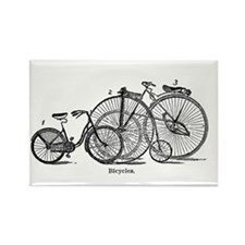Vintage Bicycles Trio Magnets