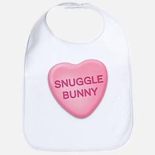 snuggle bunny Candy Heart Bib