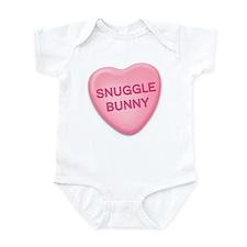 snuggle bunny Candy Heart Infant Bodysuit