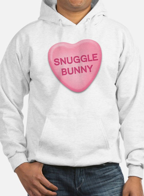 snuggle bunny Candy Heart Hoodie