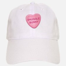 snuggle bunny Candy Heart Baseball Baseball Cap