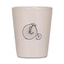 Vintage Bicycle Shot Glass