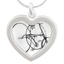 Vintage Trike Bicycle Necklaces