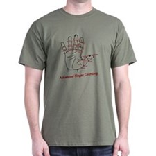 Advanced Finger Counting T-Shirt
