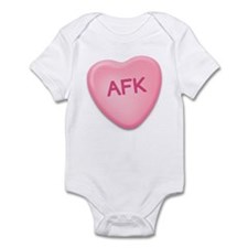 AFK Candy Heart Infant Bodysuit