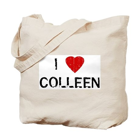 I Heart COLLEEN (Vintage) Tote Bag