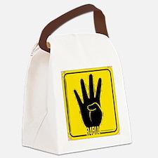 rabia Canvas Lunch Bag