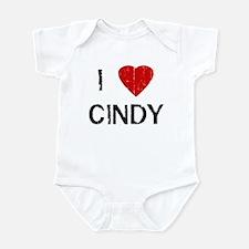 I Heart CINDY (Vintage) Infant Bodysuit