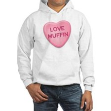 love muffin Candy Heart Hoodie