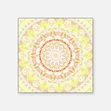 Sun Fire Mandala Kaleidoscope Sticker