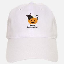 Happy Halloween Cat Baseball Baseball Baseball Cap
