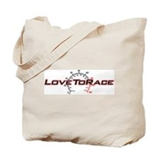 Love To Race Tote Bag