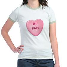 1 Fan Candy Heart T