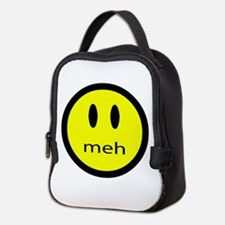 meh - saying of indifference Neoprene Lunch Bag