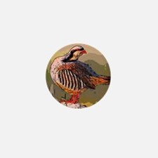 partridge -  official bird of Kurdista Mini Button