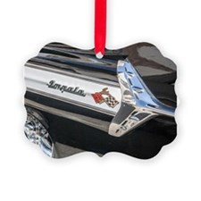 Black Impala Close Up Ornament