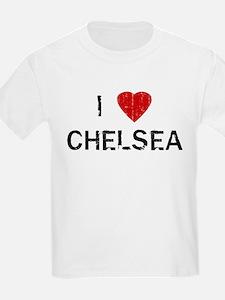 I Heart CHELSEA (Vintage) Kids T-Shirt