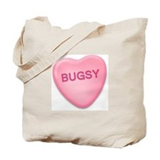bugsy Candy Heart Tote Bag