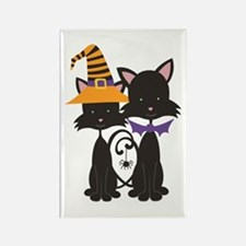 Adorable Halloween Cats Magnets