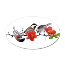 Quince Birds Wall Decal