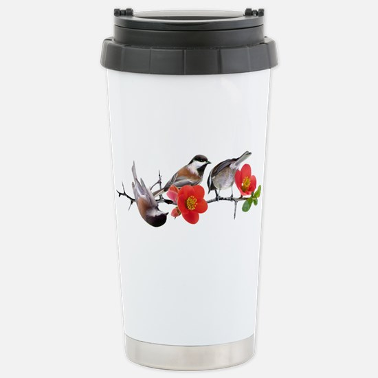 Quince Birds Stainless Steel Travel Mug