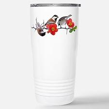 Quince Birds Travel Mug