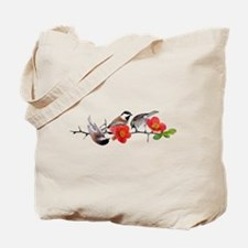 Quince Birds Tote Bag