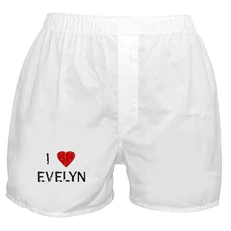 I Heart EVELYN (Vintage) Boxer Shorts