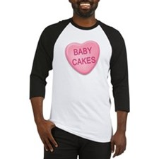 baby cakes Candy Heart Baseball Jersey