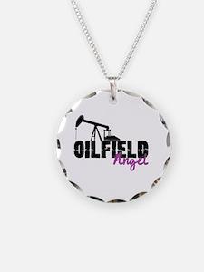 Oilfield Angel Necklace