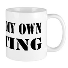 I Do All My Own Punting Mug