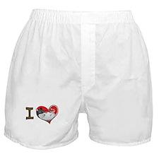 I heart rats (hooded) Boxer Shorts