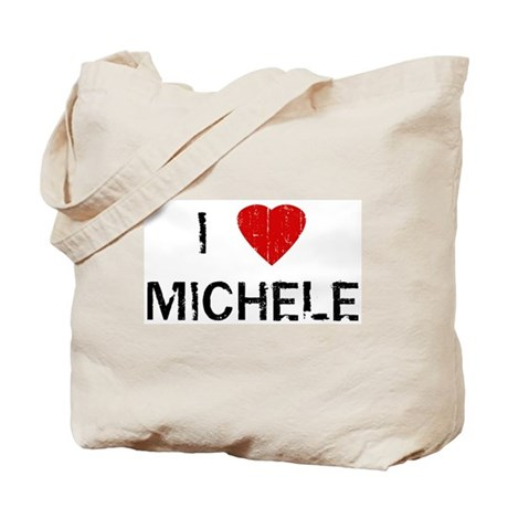 I Heart MICHELE (Vintage) Tote Bag