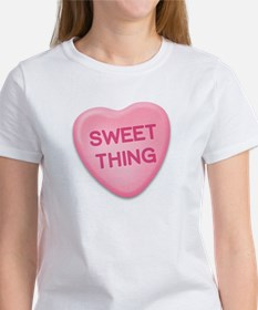 Sweet Thing Candy Heart Tee