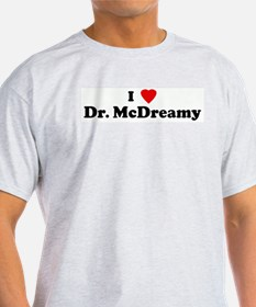 I Love Dr. McDreamy Ash Grey T-Shirt