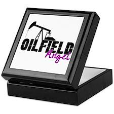 Oilfield Angel Keepsake Box