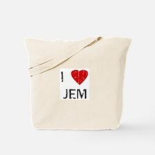 I Heart JEM (Vintage) Tote Bag