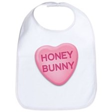Honey Bunny Candy Heart Bib