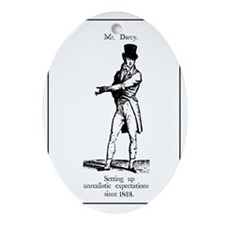 Mr. Darcy Oval Ornament