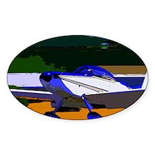 Sport Aviation Oval Stickers