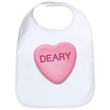 Deary Candy Heart Bib