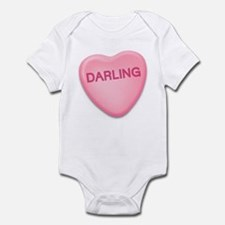 Darling Candy Heart Infant Bodysuit