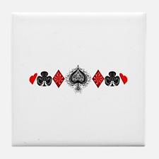 Stylish Aces Tile Coaster