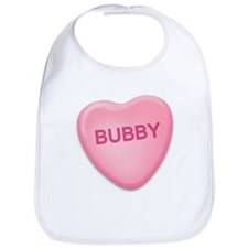 Bubby Candy Heart Bib