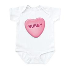 Bubby Candy Heart Infant Bodysuit