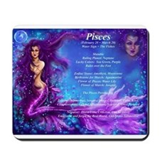 Goddess Pisces Mousepad